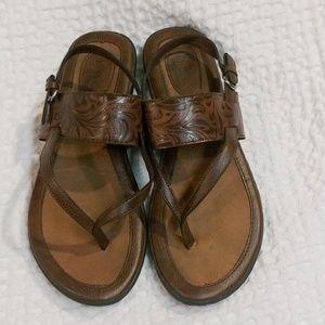 B.O.C. Brown Thong Sandals